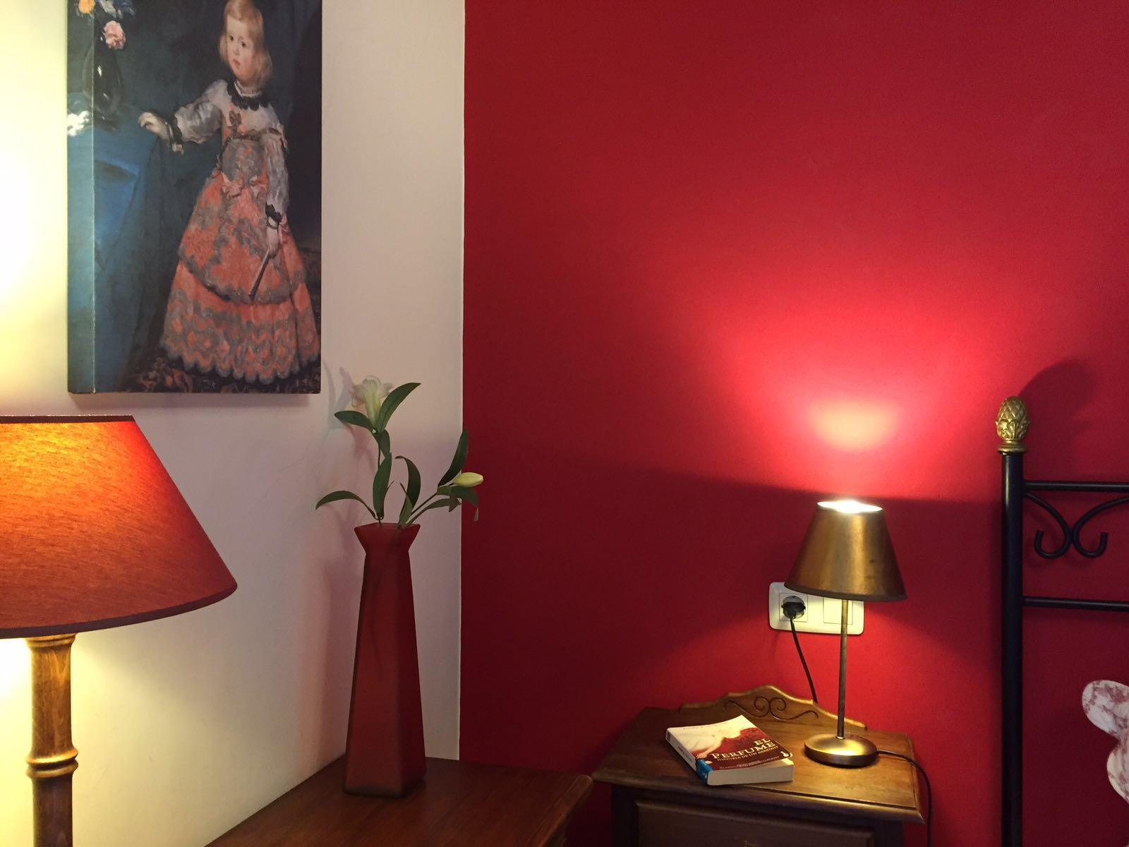 detalle habitación portal de Zaragoza