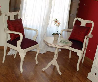 salita estar suite Palacio de Sada Casa natal del rey Fernando el Católico