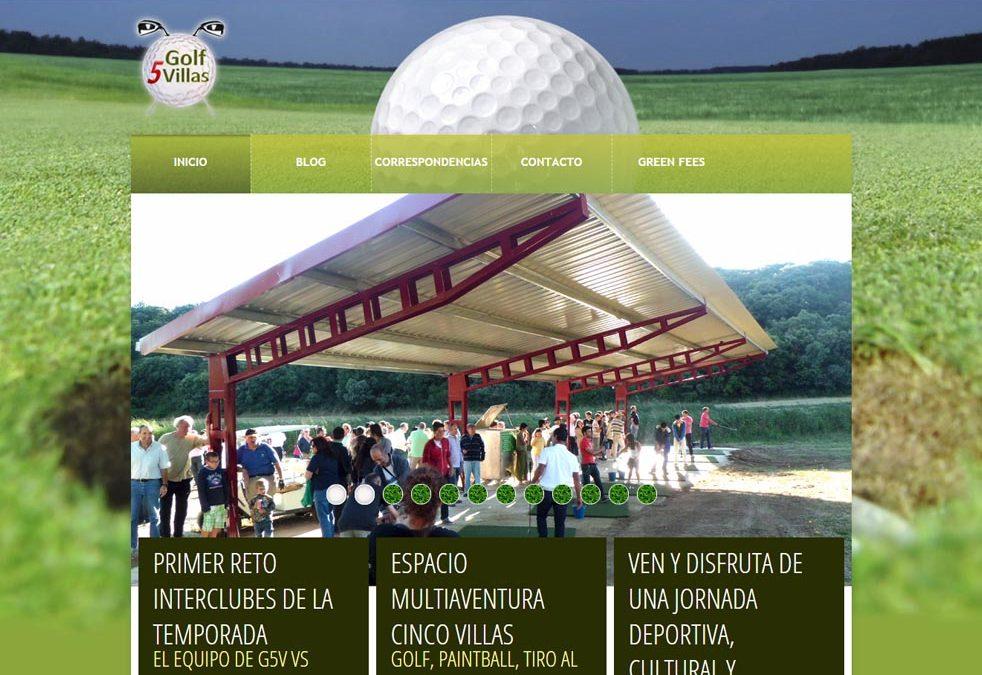 Jugar al golf en Cinco Villas (Luesia)