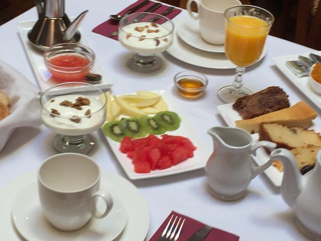 Delicioso desayuno