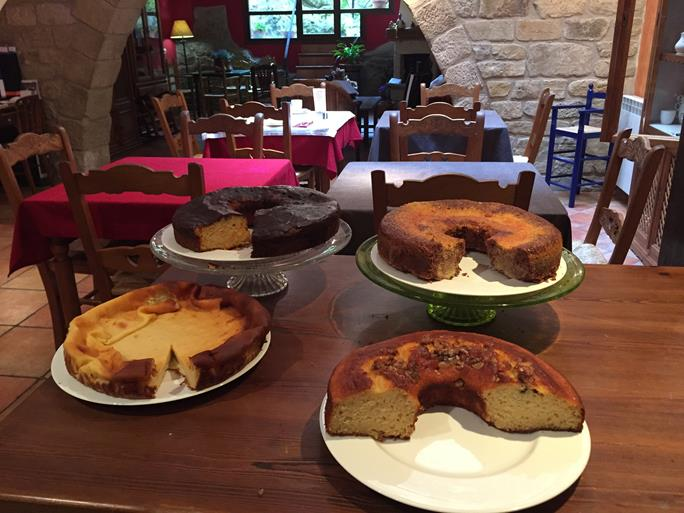 En Sos del rey católico, Bizcochos artesanos desayunos Infanzón